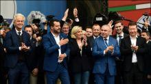 Zehntausende Anhänger bei Kundgebung von europäischen Rechtspopulisten in Mailand