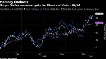 Memory Chipmakers Jump on Morgan Stanley's Pricing Optimism