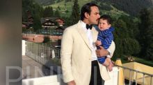 PHOTO: Saif Ali Khan planting a kiss on son Taimur Ali Khan's forehead is beyond adorable