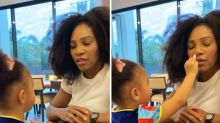 'New normal': Serena Williams shares 'adorable' moment with daughter
