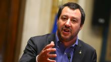 Italy's League leader dismisses talk of president's impeachment