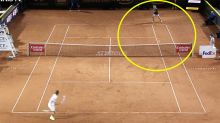 'Oh my God': Tennis world erupts over 'extraordinary' moment