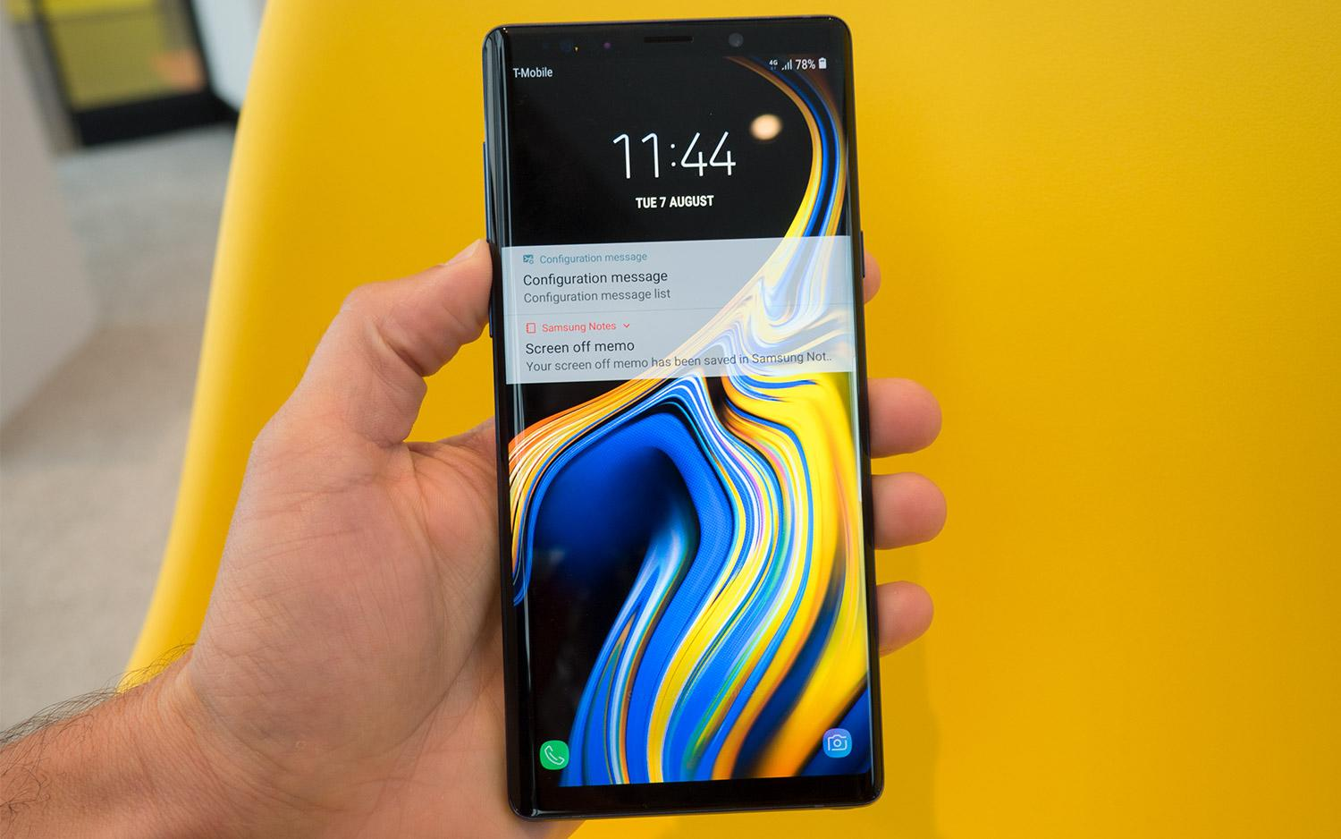 Galaxy Note 9 Review: The Best Big-Screen Phone