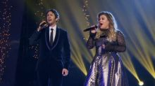 Josh Groban and Kelly Clarkson pay tribute to kids who have suffered traumatizing experiences