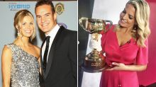 AFL great opens up on new romance with Melbourne Cup host