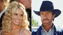 Jessica Simpson recalls getting acting lessons from Chuck Norris as a child