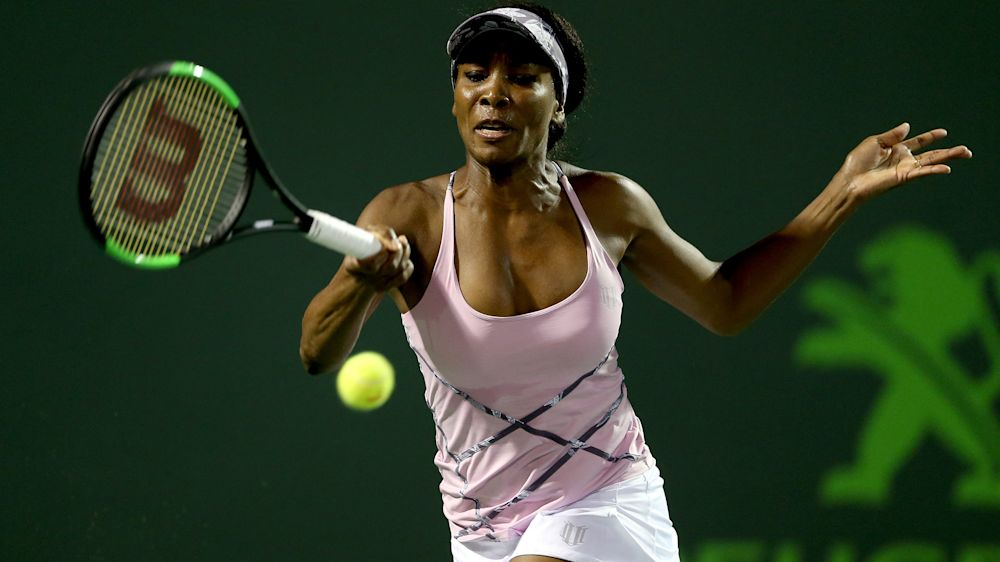 Venus Williams upsets world No. 1 Angelique Kerber at Miami Open