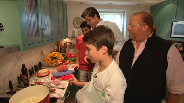 Mario Batali's Sons Take Over Chef Duties in Cookbook
