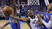 Jazz star to Thunder fans: 'See y'all next year'
