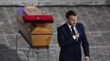 Beheaded teacher was 'quiet hero' who incarnated French values, Emmanuel Macron says