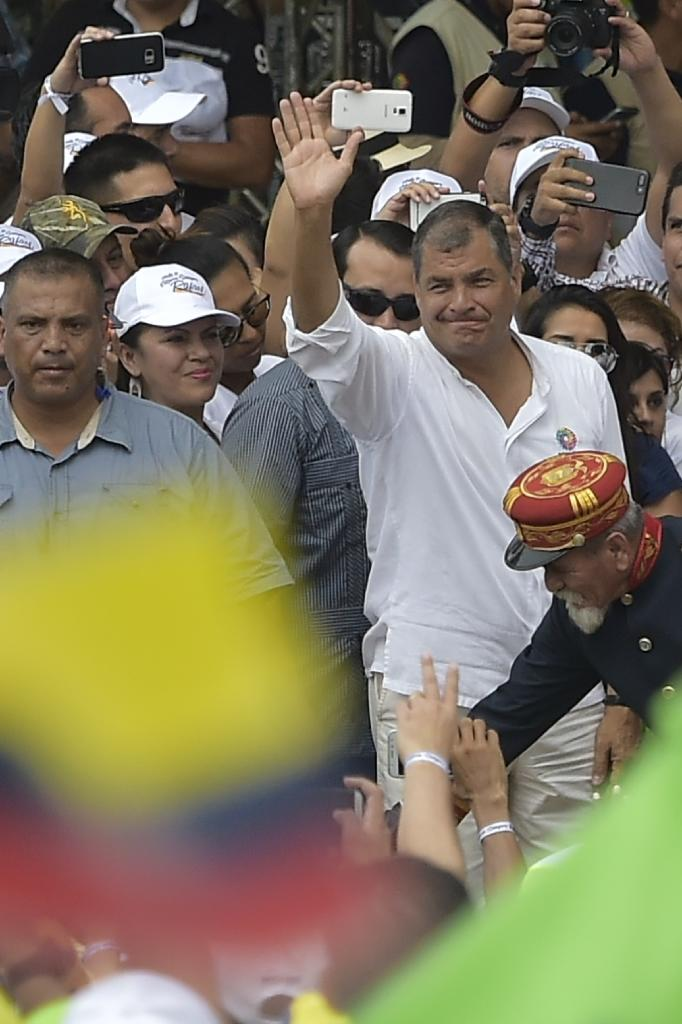 Rafael Correa, one of Latin America's best known leftist leaders, bids farewell after 10 years as Ecuador's president (AFP Photo/RODRIGO BUENDIA)