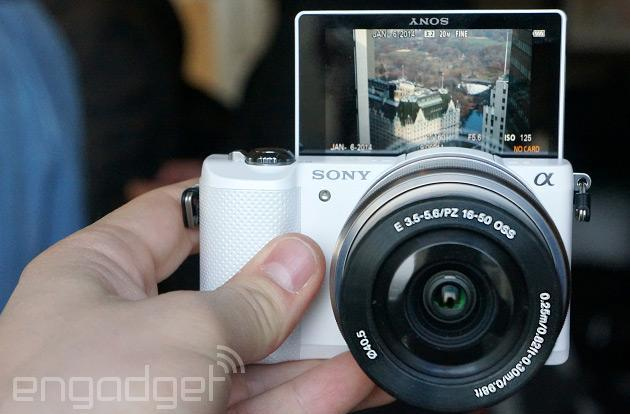 Sony announces Alpha 5000 with 20.1MP sensor, 180-degree display, WiFi for $600 with lens (hands-on)