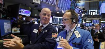 US stocks approach record highs