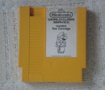NES Joystick Test Cartridge lands on eBay, complete with lowest replay value ever