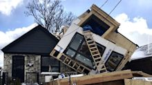 Strong winds may have caused house collapse, Toronto police say
