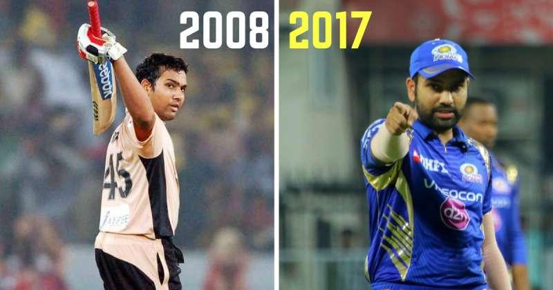 Rohit Sharma in the IPL: The transformation from 2008-2017 ...