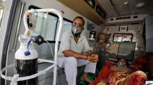 Oxygen supplies run low as India grapples with coronavirus 'storm'