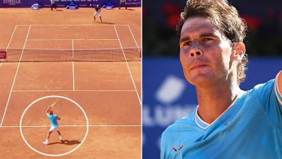 'What's going on?': Fears over 'bizarre' Nadal scenes