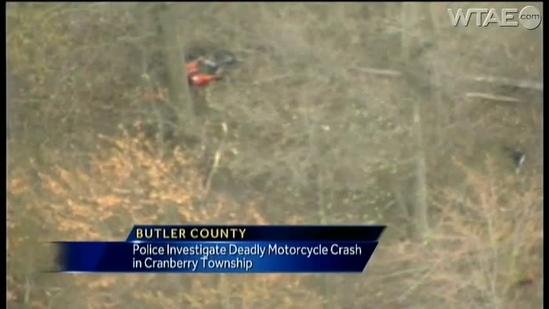 Cranberry Township crash kills motorcycle driver