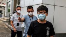 Hongkonger Demokratie-Aktivist Wong nach Festnahme gegen Kaution freigelassen