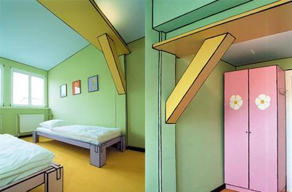 Berlin hotel offers cel-shaded room to guests