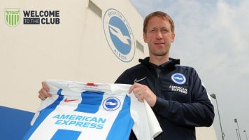 Graham Potter announced as new Brighton manager