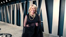 Martha Stewart, 78, shows some leg in minidress at Oscars party — credits 'horseback riding' for great gams