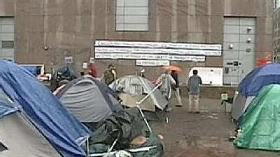 Occupy Boston Will Hunker Down For Winter
