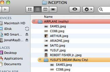No Comment: Inception explained for Mac users