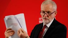 Corbyn frames election as 'fight for NHS' as he presents 'proof' of US Brexit deal talks