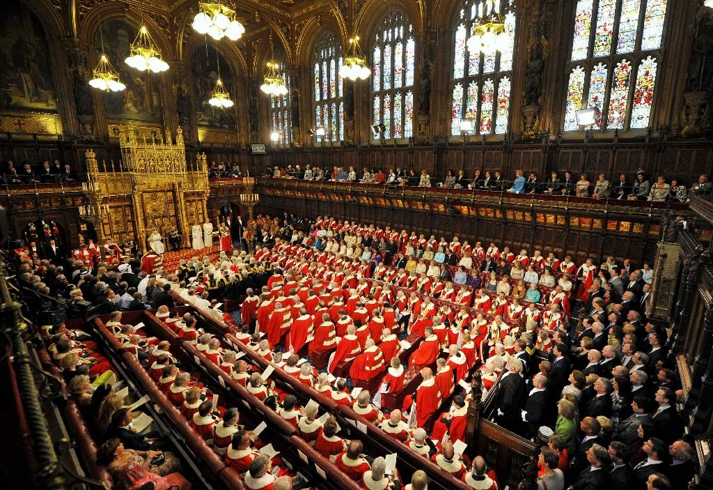 The scandal has prompted renewed calls for reforms to slim down the House of Lords, made up of 783 peers (AFP Photo/Toby Melville)