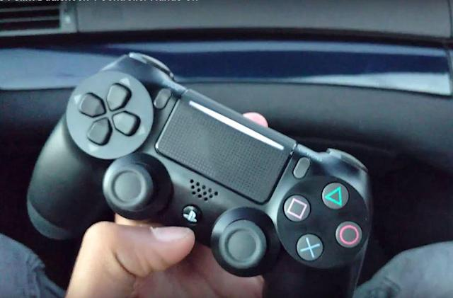 Video claims to show a redesigned PS4 slim controller