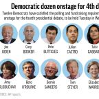 6 questions that loom over the crowded Democratic debate