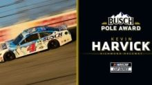 Kevin Harvick wins Busch Pole Award for playoff race at Richmond