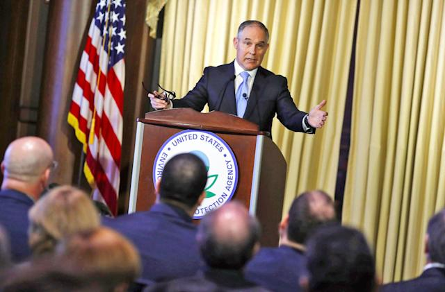 EPA head suggests CO2 isn't a 'primary contributor' to climate change