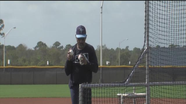 Spring training for Rays begins