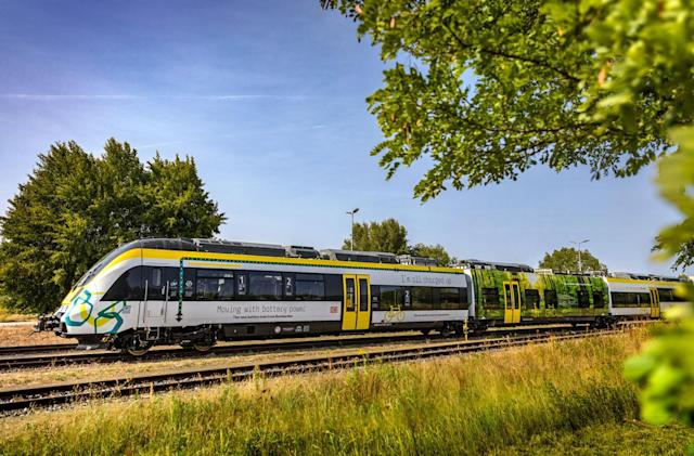 Bombardier revives the battery-powered train