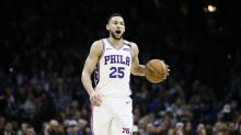 Report: 76ers' Ben Simmons suffers nerve impingement in lower back