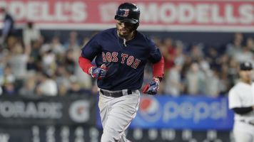 Red Sox clinch third straight AL East title