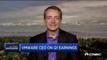 VMware CEO Pat Gelsinger on earnings, cloud partnerships and more