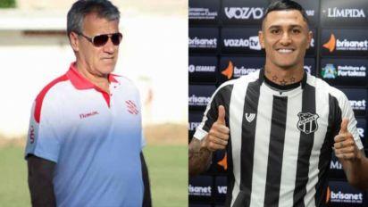 Dose dupla no 'De Casa com o L!': Meia do Ceará Vinícius e Alfredo Sampaio são os convidados