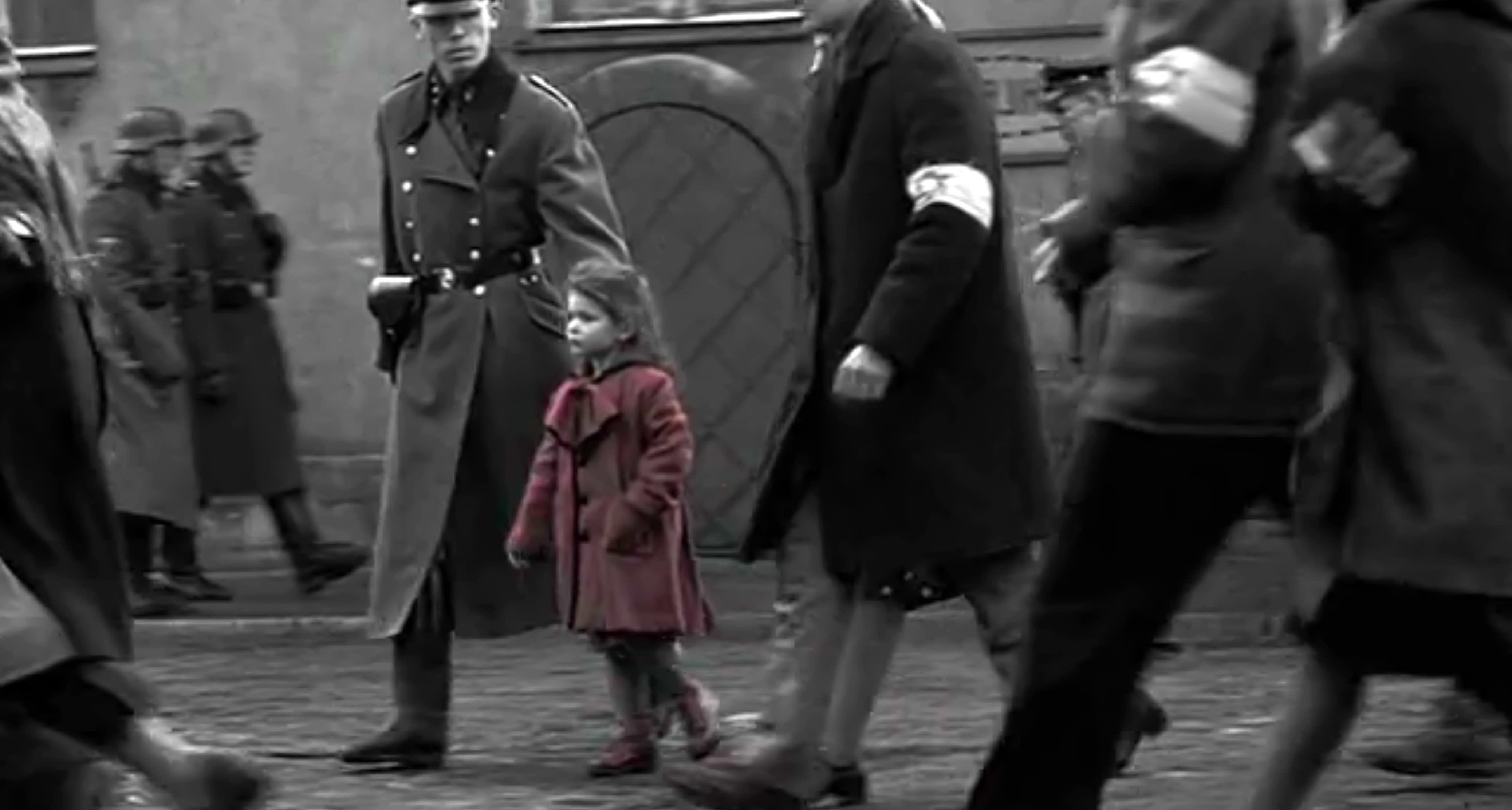 Schindlers Liste Mädchen Roter Mantel