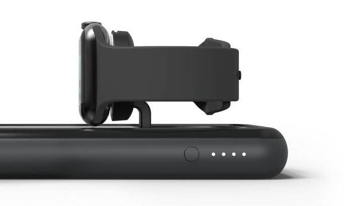 Mophie's latest portable battery pack has a flip-out Apple Watch charger | Engadget