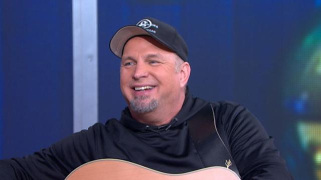 Garth Brooks Makes Surprise Announcement on 'GMA'