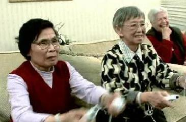 On a slow news day, CNN discovers that retirees enjoy the Wii