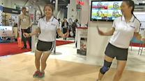 International CES showcases health gadgets