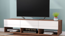 9 affordable TV stands worthy of your fancy new boob tube