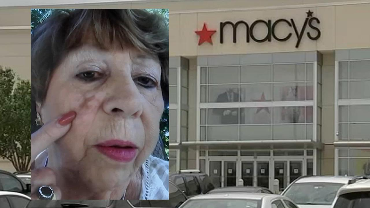 Woman accuses Macy's of leaving permanent 'X' mark on her face after makeup consultation