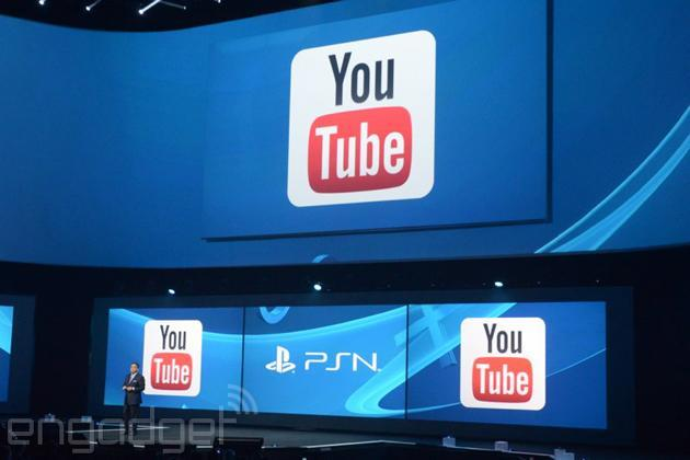 YouTube headed to PlayStation 4 'later this year,' adds one-click sharing