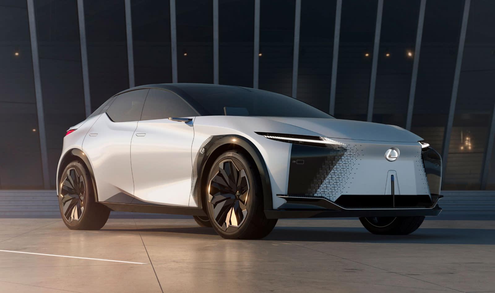 The Lexus LF-Z Electrified concept.